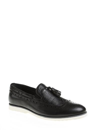 %100 Deri Casual Ayakkabı-Beue